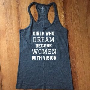 Girls Who Dream Become Women with Vision Tank